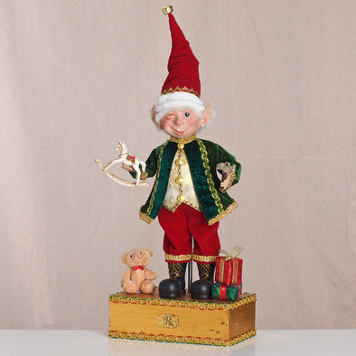 THE TOY MAKER ELF 57.5CM - XX7281 (Box of 1)