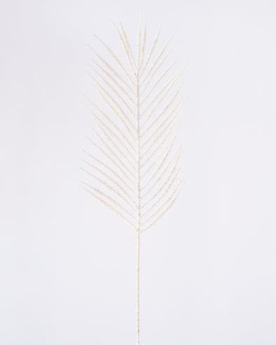 PALM LEAF WHITE 74CM - XX8680WH  (Box of 24)