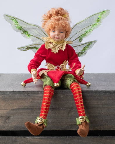 CHRISTMAS FAIRY RED 40CM - XX9310 (Box of 1)