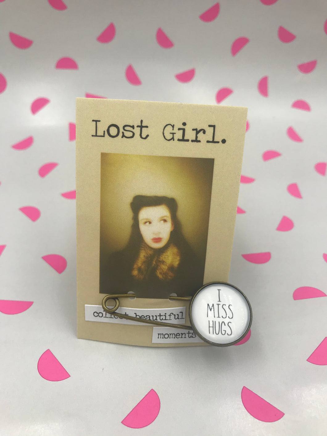 Lost Girl Pins - I Miss Hugs