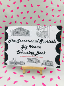 The Great Scottish Gig Guide Colouring Book