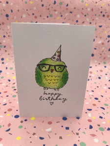 Happy Birthday Owl
