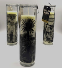 Load image into Gallery viewer, Monochrome Tall Glass Candle