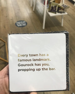 Gourock- famous landmark fun card