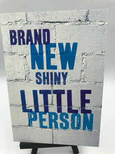 Brand new Shiny little person (blue)