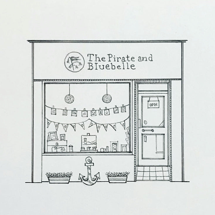 The Pirate and Bluebelle Colouring Competition - Digital Download