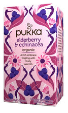 Load image into Gallery viewer, Pukka Elderberry and Echinacea *recommended by Sue*