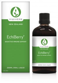 KiwiHerb Echiberry + Elderberry 100ml *Essential*