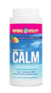 Natural VItality Calm Magnesium Rasberry
