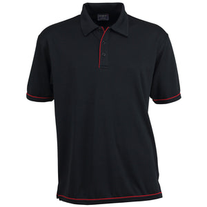 The Cool Dry Polo | Mens | Black/Red