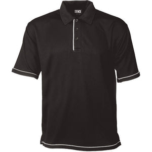 The Cool Dry Polo | Mens | Black/White