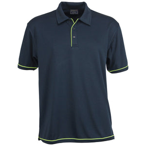The Cool Dry Polo | Mens | Navy/Lime