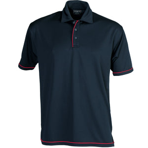 The Cool Dry Polo | Mens | Navy/Red