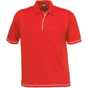 The Cool Dry Polo | Mens | Red/White