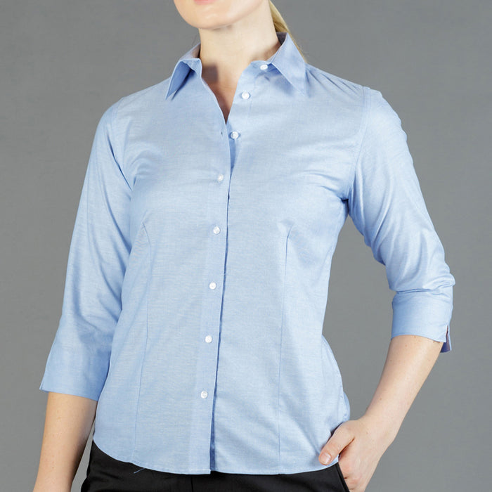 The Oxford Shirt | Ladies | 3/4 Sleeve