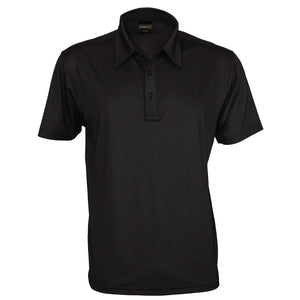 The Silvertech Polo | Mens | Short Sleeve | Black