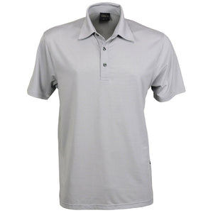 The Silvertech Polo | Mens | Short Sleeve | Silver