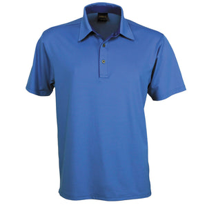 The Silvertech Polo | Mens | Short Sleeve | Ocean Blue