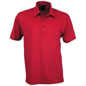 The Silvertech Polo | Mens | Short Sleeve | Red