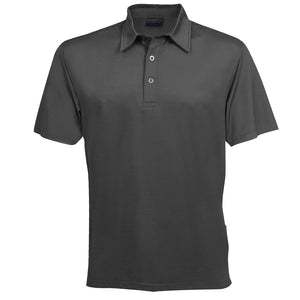 The Silvertech Polo | Mens | Short Sleeve | Charcoal