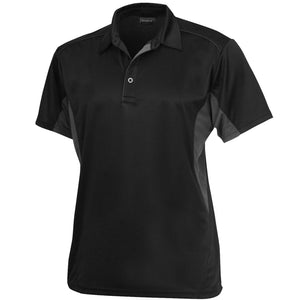 The Freshen Polo | Mens | Short Sleeve | Black/Charcoal
