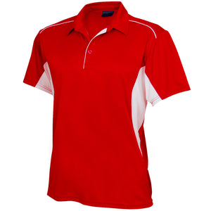The Freshen Polo | Mens | Short Sleeve | Red/White