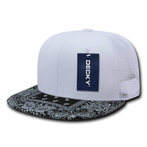Bandanna Trucker | White