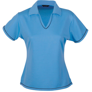 The Cool Dry Polo | Ladies | Bimini Blue/Navy