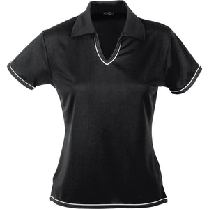 The Cool Dry Polo | Ladies | Black/White