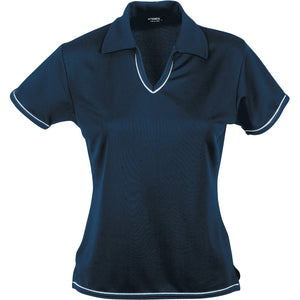 The Cool Dry Polo | Ladies | Navy/White