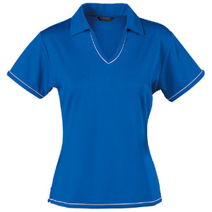 The Cool Dry Polo | Ladies | Royal/White