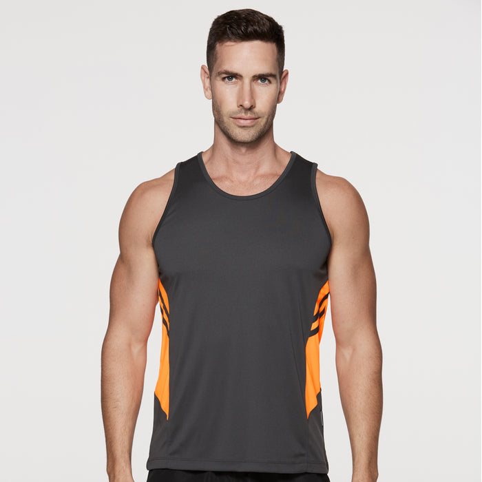 The Tasman Singlet | Mens | Black Base