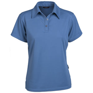 The Glacier Polo | Ladies | Short Sleeve | Dusty Blue