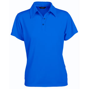 The Glacier Polo | Ladies | Short Sleeve | Ocean Blue