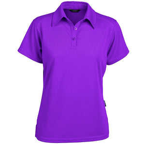 The Glacier Polo | Ladies | Short Sleeve | Purple