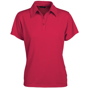 The Glacier Polo | Ladies | Short Sleeve | Red