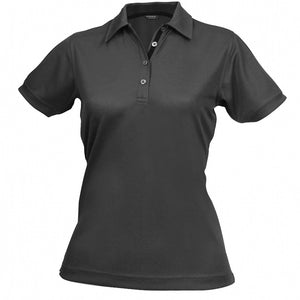 The Superdry Polo | Ladies | Charcoal/Black