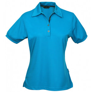 The Superdry Polo | Ladies | Mid Blue/Navy