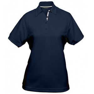 The Superdry Polo | Ladies | Navy/Silver