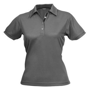 The Superdry Polo | Ladies | Platinum/Charcoal