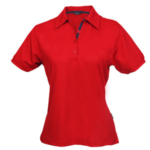 The Superdry Polo | Ladies | Red/Navy