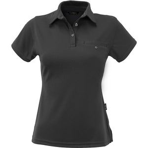 The Boston Polo | Ladies | Short Sleeve | Charcoal
