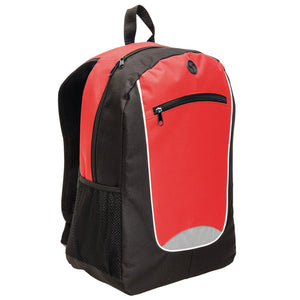 The Reflex Backpack | Black/Red