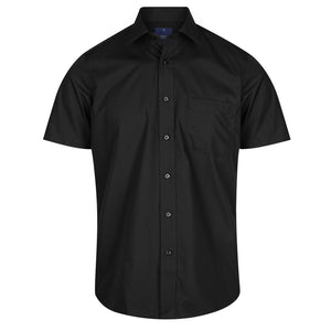 The Nicholson Shirt | Mens | Short Sleeve | Black