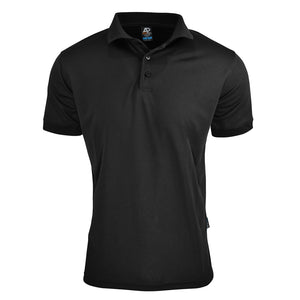 The Lachlan Polo | Mens | Short Sleeve | Black