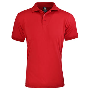 The Lachlan Polo | Mens | Short Sleeve | Red