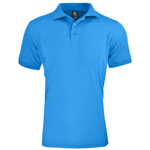 The Lachlan Polo | Mens | Short Sleeve | Pacific Blue