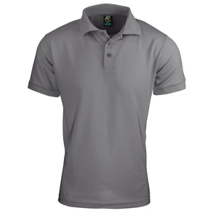 The Lachlan Polo | Mens | Short Sleeve | Silver