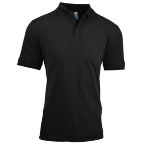 The Claremont Polo | Mens | Short Sleeve | Black