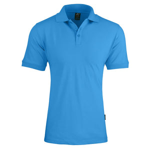 The Claremont Polo | Mens | Short Sleeve | Cyan